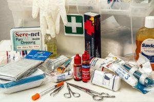 Zawartość apteczki pierwszej pomocy